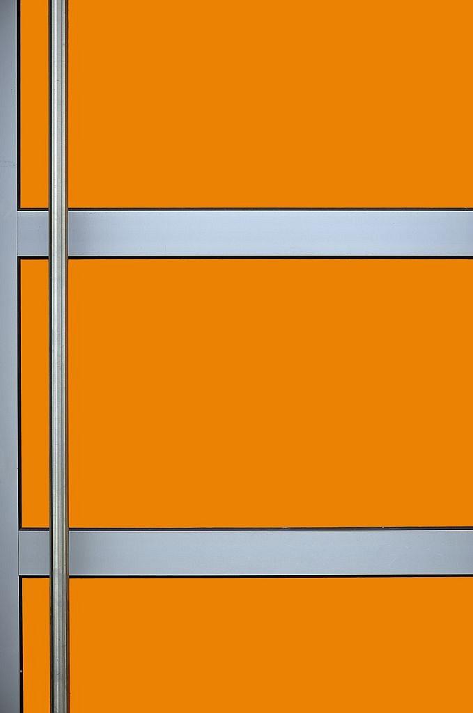 Orange Tür